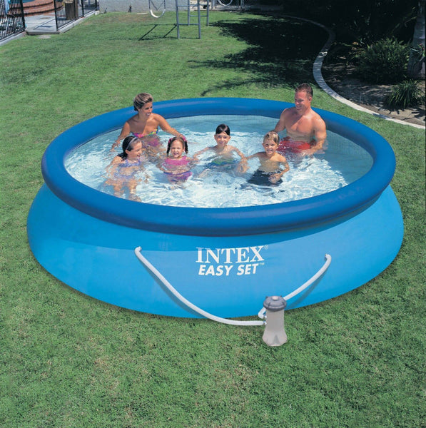 Intex® 28131EH Easy Set® Above Ground Swimming Pool & Filter Pump, 12' x 30""