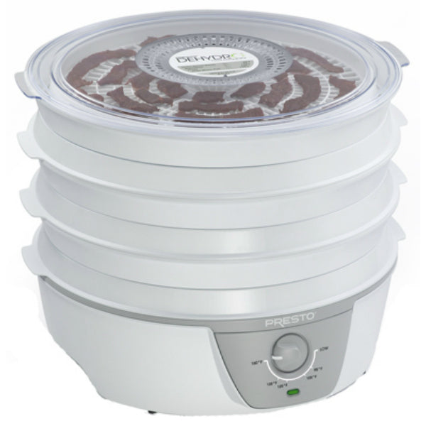 Presto® 06302 Dehydro™ Electric Food Dehydrator, 120V AC, 750W