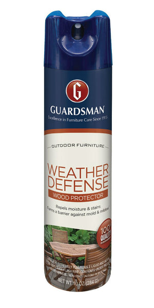 Guardsman® 461900 Weather Defense™ Outdoor Wood Protector, Aerosol, 10 Oz