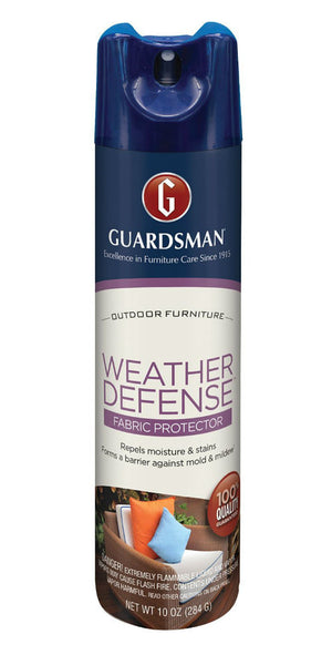 Guardsman® 462000 Weather Defense™ Outdoor Fabric Protector, Aerosol, 10 Oz