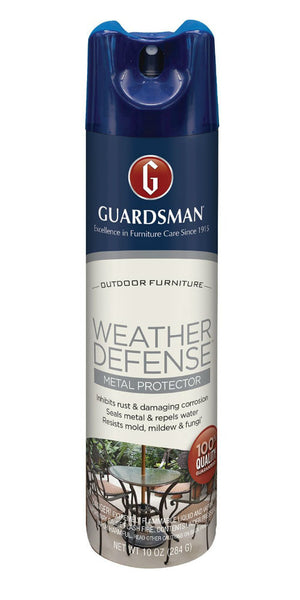 Guardsman® 461800 Weather Defense™ Outdoor Metal Protector, Aerosol, 10 Oz
