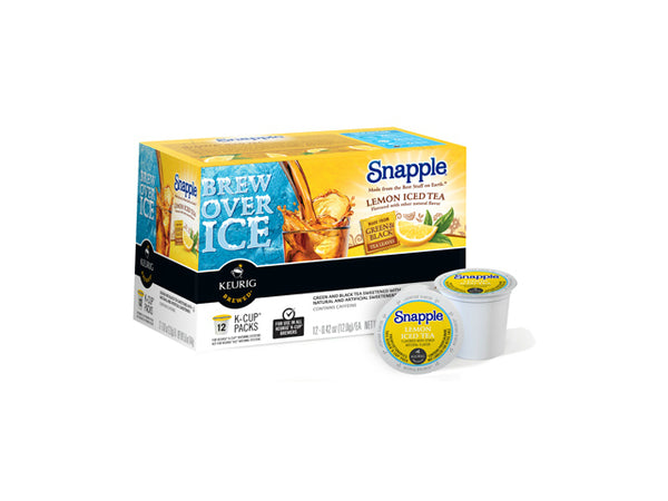 Snapple® 117458 Snapple Lemon Iced Tea K-Cup, 12 Count