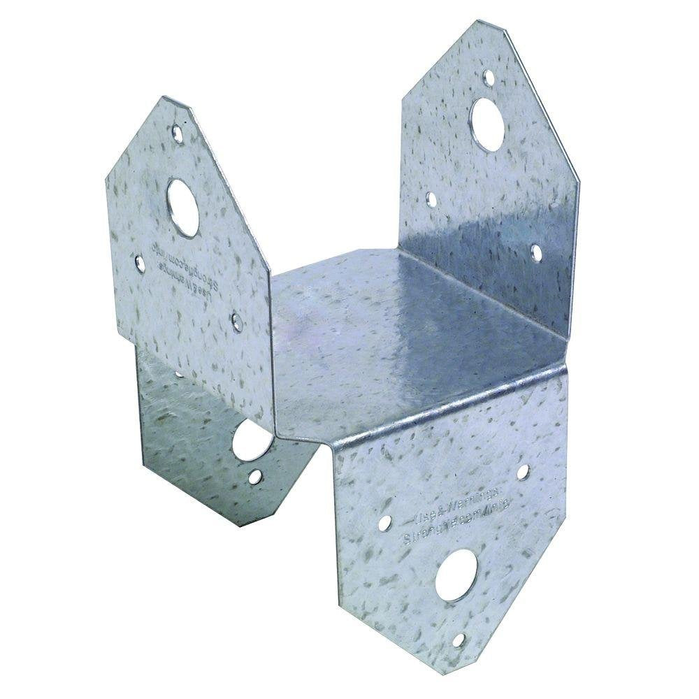 Simpson Strong-Tie BC4Z-R Post Cap/Base Z-Max, 4 x 4