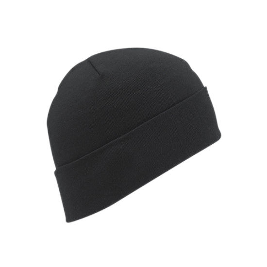 Wigwam F4658-052-OS Thermax® Polyester Cap, One Size Fits All, Black