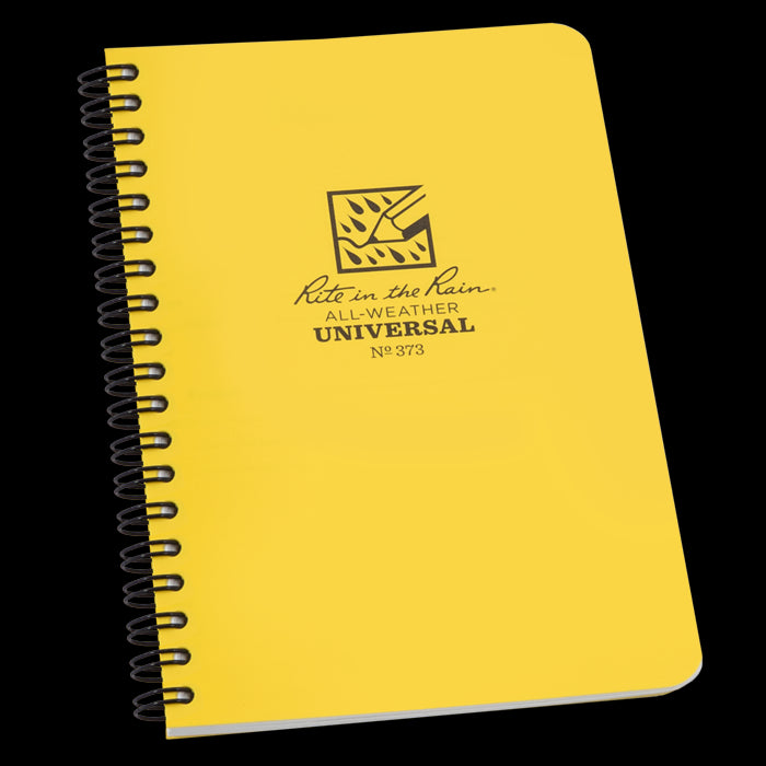 "Rite in the Rain® 373 All-Weather Side-Spiral Notebook, 4-5/8"" x 7"", 64 Pages"