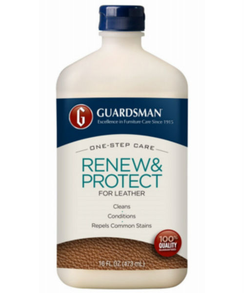 Guardsman® 471300 Leather Renew & Protector, 16 Oz