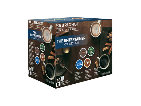 Keurig 118931 Entertainer Variety Pack Single Serving K-Cup, 48-Count