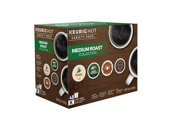 Keurig 118930 Medium Roast Variety Pack Single Serving K-Cup, 48-Count
