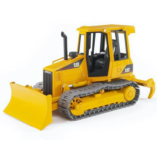 Bruder® 02444 Caterpillar Track-Type Tractor Toy, Scale 1:16, Age 3+