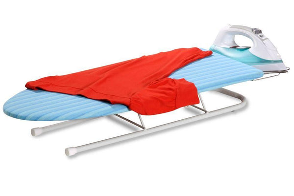 Honey-Can-Do BRD-01435 Deluxe Tabletop Ironing Board w/Retractable Iron Rest