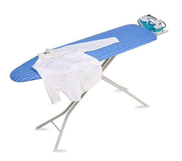Honey-Can-Do BRD-01956 Quad-Leg Ironing Board with Retractable Iron Rest