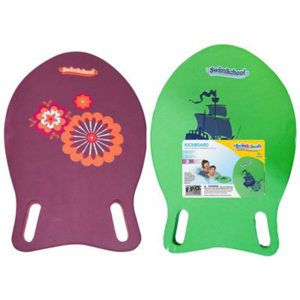 SwimSchool™ SSK10175 Fish-Shape Foam Kickboard, Assorted