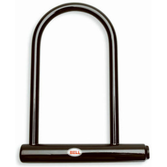 "Bell® 7067993 Hands Off U-Lock with 8"" Hardened Steel Shackle & Crossbar"