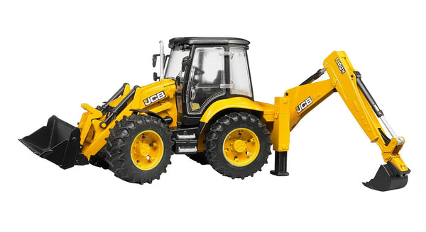 Bruder® 02454 JCB 5CX Eco Backhoe Loader Toy, Scale 1:16, Age 4+