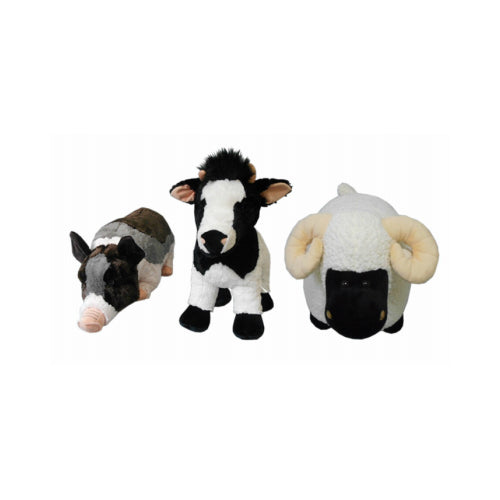 Hugfun 236798ASST Plush Farm Animal, 21""