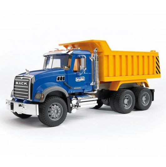 Bruder® 02815 Mack Granite Dump Truck Toy, Scale 1:16, For Age 3+
