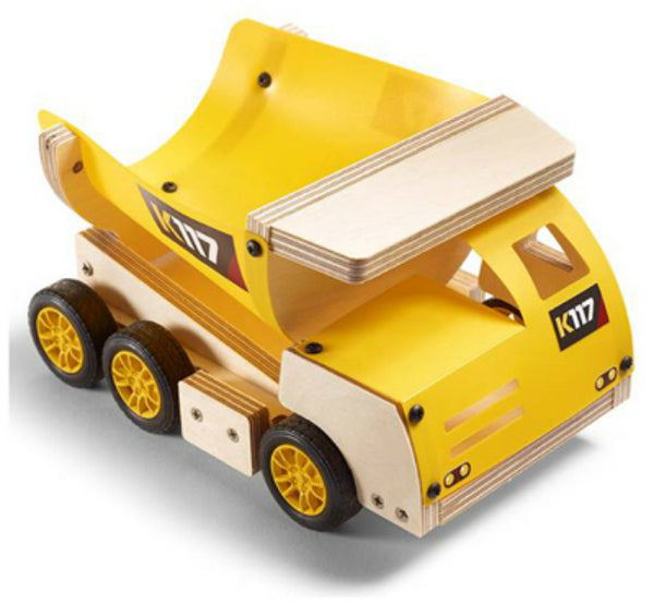Stanley® Jr. OK006-SY Wooden Dump Truck Carpentry Kit, Level 1