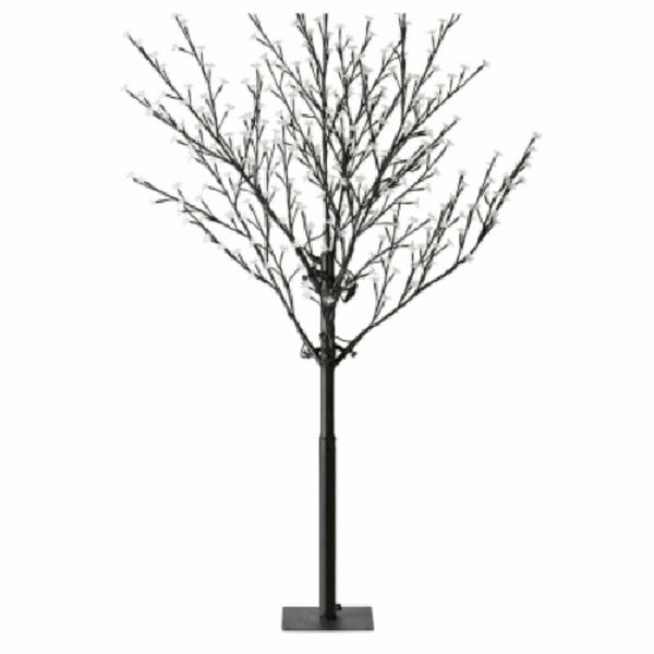 Holiday Wonderland® X99616 Cherry Blossom Tree w/ 336 Pure White LED Lights, 6'