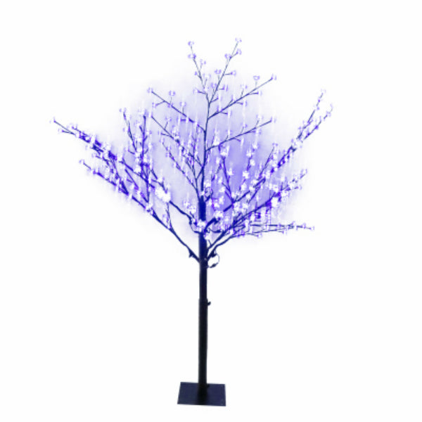 Holiday Wonderland® XDHK32532A Cherry Blossom Tree w/ 336 Blue LED Lights, 6'