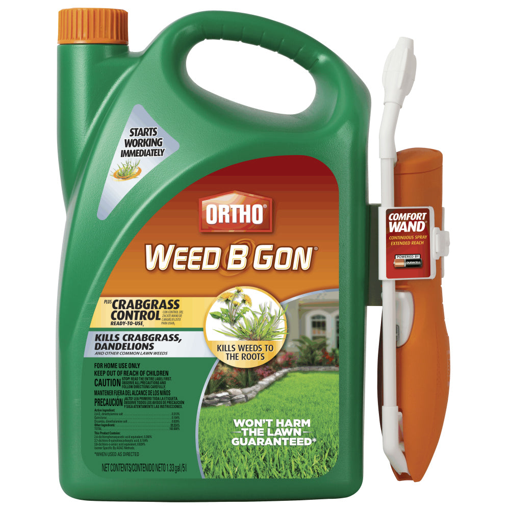 Ortho® 0446010 Weed B Gon® Max® Plus Crabgrass Control, RTU, 1.1 Gallon