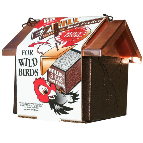C&S® 727 E-Z Fill™ Bottom Suet Feeder for Wild Birds