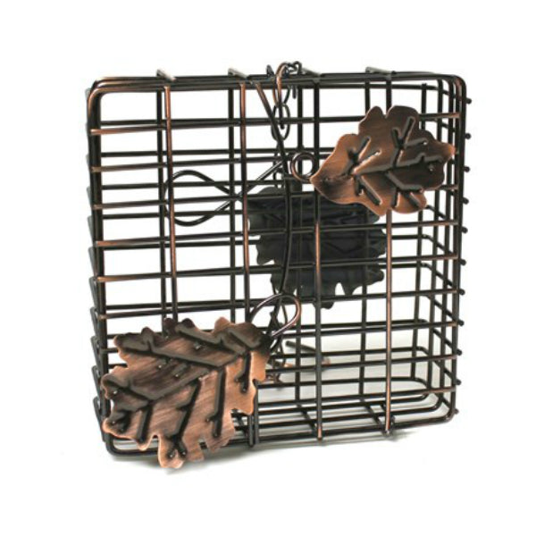 Heath™ 2304 Copper Leaf Suet & Seed Feeder with Hanging Chain
