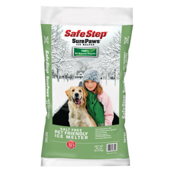 Safe Step® 56754 Sure Paws® Pet-Friendly Ice Melter, 40 Lb
