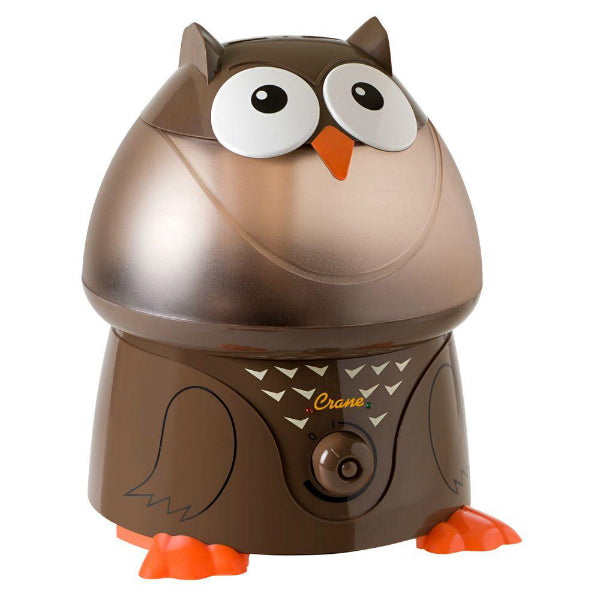 Crane EE-8189 Adorable Ultrasonic Cool Mist Humidifier, Gallon, Oscar The Owl