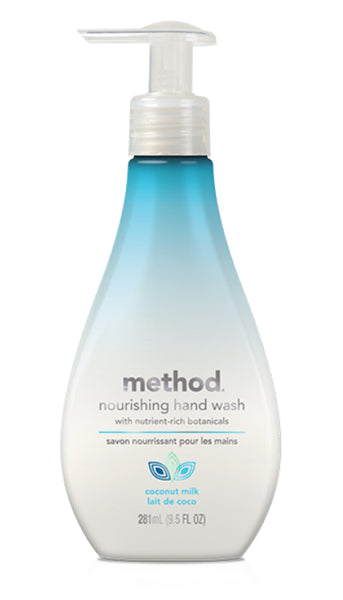Method® 01617 Nourishing Hand Wash, Coconut Milk Fragrance, 9.5 Oz