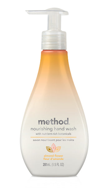 Method® 01618 Nourishing Hand Wash, Almond Flower Fragrance, 9.5 Oz