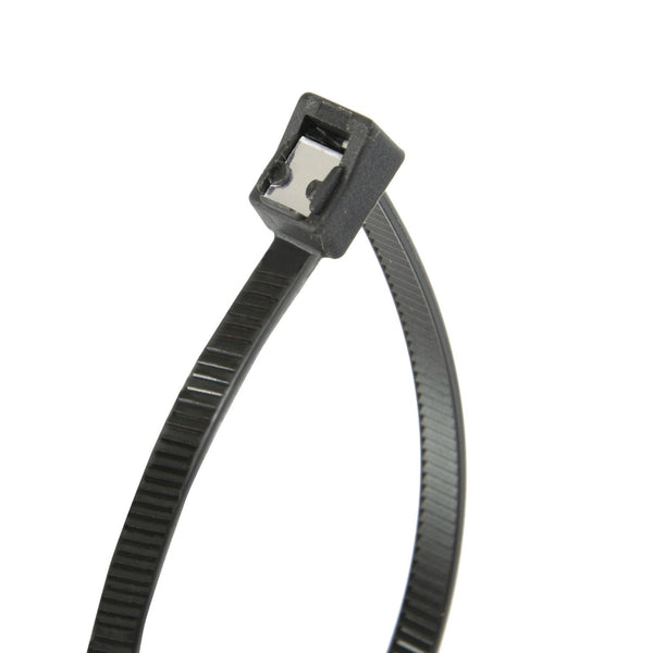 "Gardner Bender® 46-308UVBSC Self-Cutting Cable Tie, Black, 50 Lb, 8"", 50-Pack"