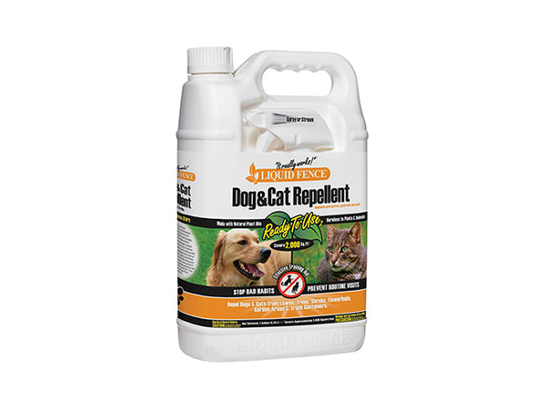 Liquid Fence® HG-70130 Dog & Cat Repellent, Ready-To-Use, 1-Gallon