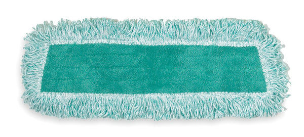 "Rubbermaid® Commercial FGQ40820GR00 Microfiber Dry Dust Mop, Green, 18"" x 5"""