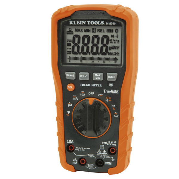 Klein® Tools MM700 Auto-Ranging Digital Multimeter, 1000V