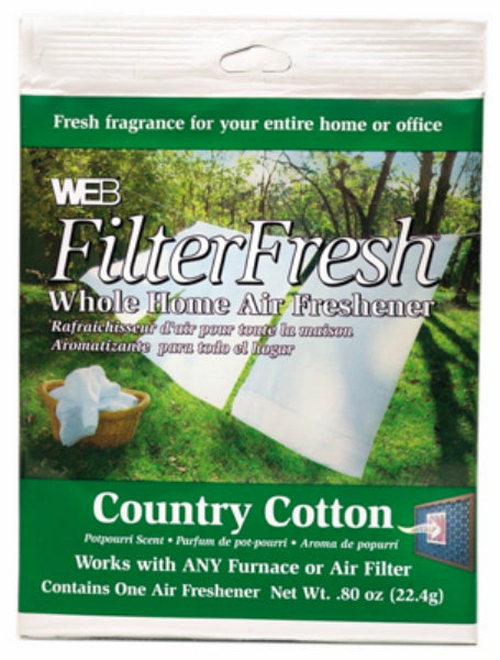 Web® WCOTTON FilterFresh® Whole Home Air Freshener, Country Cotton