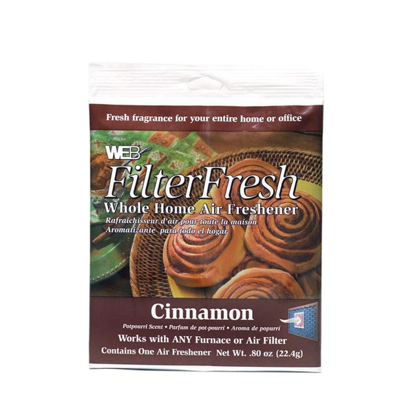 WEB® WCIN FilterFresh Whole Home Air Freshener Pad, Cinnamon Scent