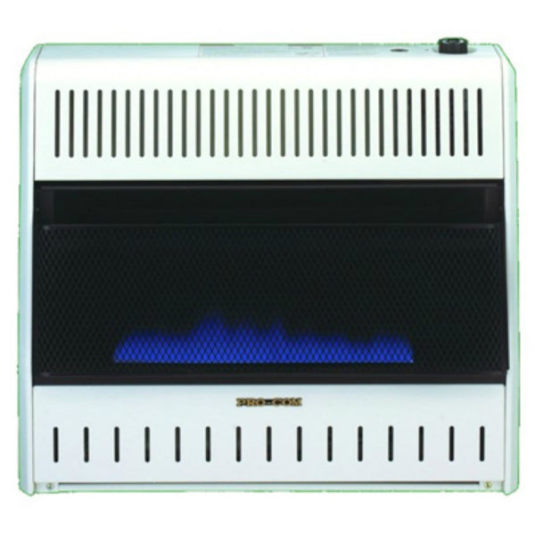 ProCom® MG30TBF Dual Fuel Vent Free Blue Flame Gas Wall Heater, 30000 BTU
