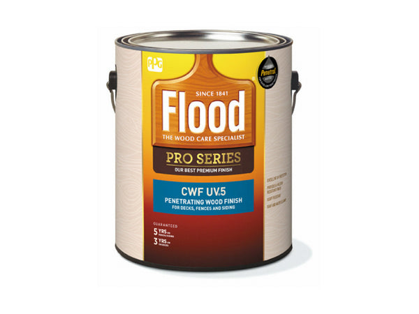 Flood FLD565-01 Pro Series CWF-UV 5 Premium Wood Finish, Natural, 1 Gallon