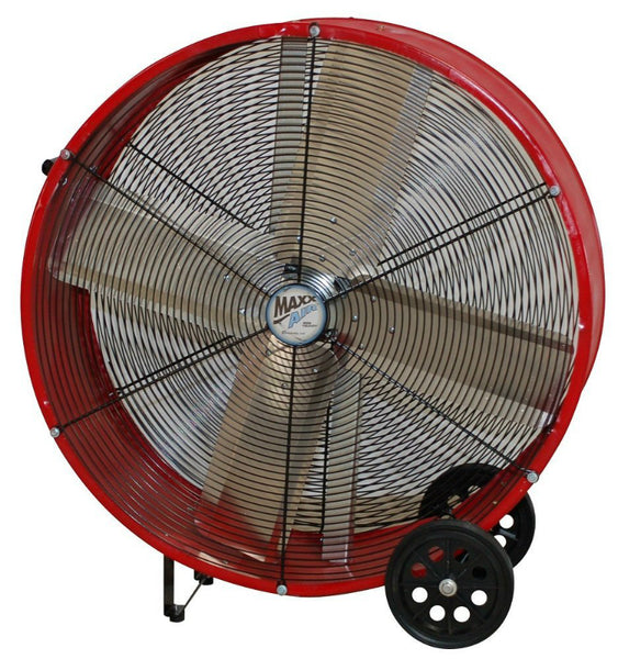 MaxxAir™ BF36DDRED Direct Drive Barrel Air Circulator Drum Fan w/ 2 Speed, 36""