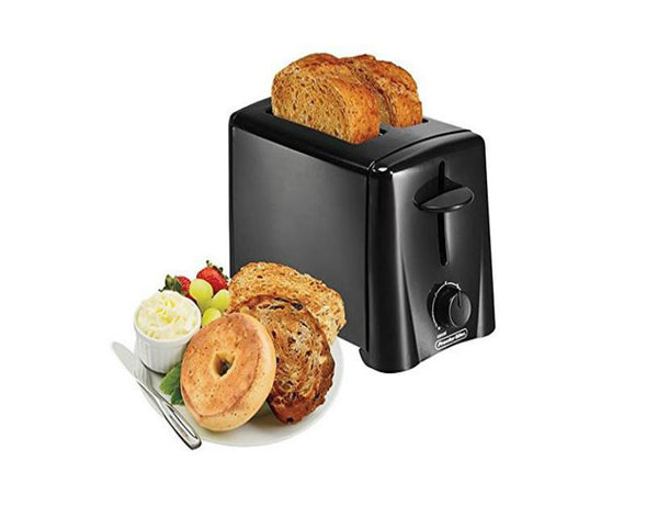 Proctor Silex 22612 2-Slice Toaster, Black Finish