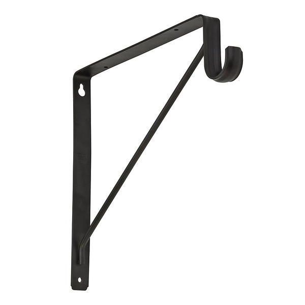 Stanley Hardware® S822-092 Steel Shelf/Rod Bracket, Oil Rubbed Bronze
