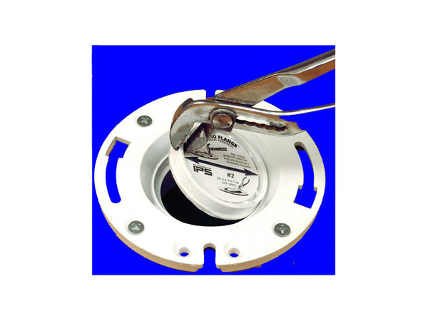 "Water-Tite® 86177 Techno VC Closet Flange with Metal Adjustable Ring, 3"" x 4"""