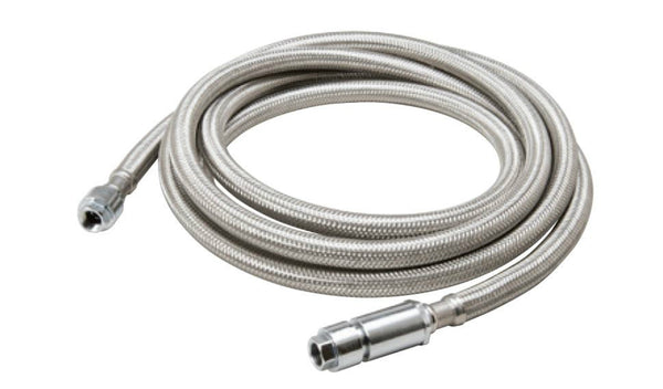 "B & K™ 496-922EF SureDry™ Braided Stainless-Steel Connector, 1/4"" x 120"""
