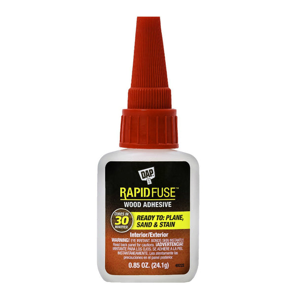 DAP® 00156 RapidFuse™ Fast-Curing Wood Adhesive, 0.85 Oz
