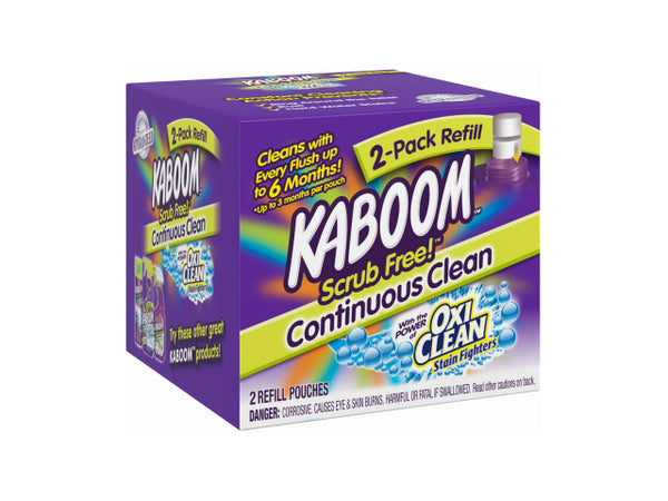 Kaboom™ 35261 Scrub Free!™ Toilet Cleaning System Refill, 2-Pack