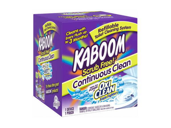 Kaboom™ 35113 Scrub Free!™ Toilet Cleaning System with Oxi Clean