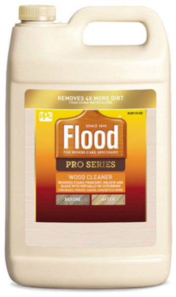 Flood FLD51-S2 Pro Series Ready To Use Wood Cleaner, 1-Gallon