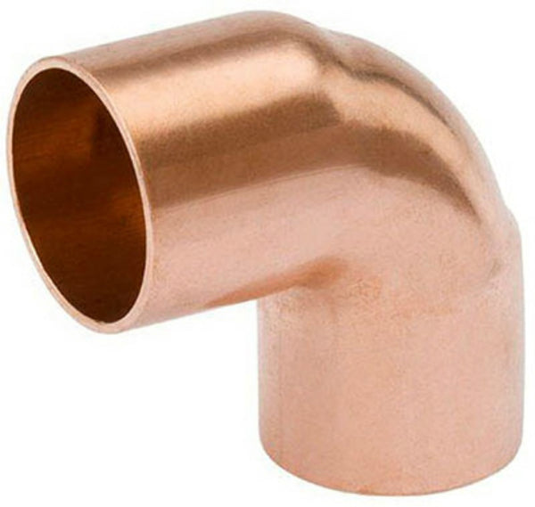 Streamline® W-62085 Wrot Copper 90-Degree Elbow, C x C, 1-1/2""
