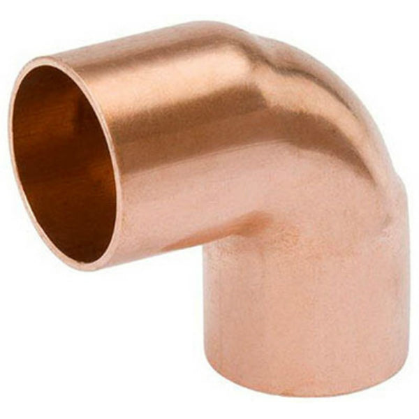 Streamline® W-61654 Wrot Copper Street Elbow, 90-Degree, 3/4""