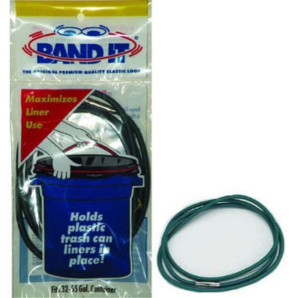 Band-IT® 24455 Trash Can Elastic Loop, 32 - 55 Gallon